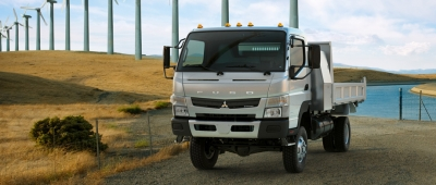 Canter FG and Crew Cab_wind farm